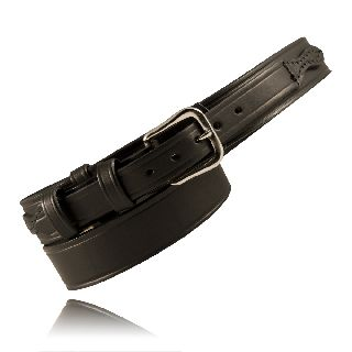 "Boston Leather 6512 1 1/2"" Ranger Belt"