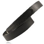 "Boston Leather 6528 1"" Hook & Loop Tipped Belt"