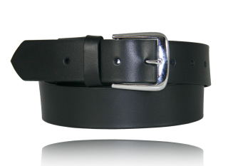 "Boston Leather 6582E 1 1/2"" Off Duty Belt w/ Elastic"