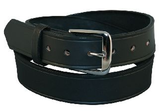"Boston Leather 6582L 1 1/2"" Off Duty Belt, Fully Lined"