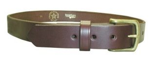 "Boston Leather 6582NL 1 1/2"" Off Duty Belt, No Lines"
