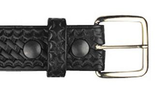 "Boston Leather 6594 #6582, 1 1/2"" Off Duty Buckle"