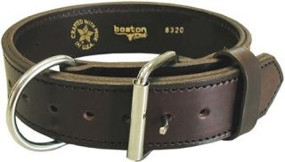 "Boston Leather 8320-1 2"" Collar"