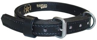 "Boston Leather 8360-1 1"" Single Ply Collar"
