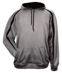 Bodek 1467 Badger Adult 100% Polyester Performance Fusion Hooded Sweatshirt