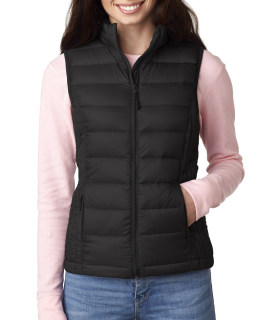 Bodek 16700W Weatherproof Ladies' Packable Down Vest