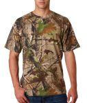 Bodek 3980 Code V Adult REALTREE® Camouflage Cotton T-Shirt