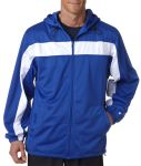 Bodek 7705 Badger Adult Brushed Tricot Hooded Jacket