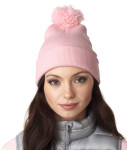 Bodek 8136 UltraClub Knit Pom-Pom Beanie with Cuff