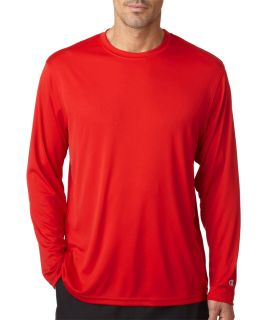 987141fb Bodek CW26 Champion Adult Double Dry® Long-Sleeve Interlock T-Shirt.  Loading zoom