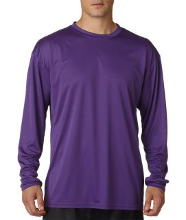 Bodek N3165 A4 Adult Cooling Performance Long Sleeve Crew