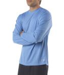 Bodek N3253 A4 Men's Textured Tech Long-Sleeve Tee