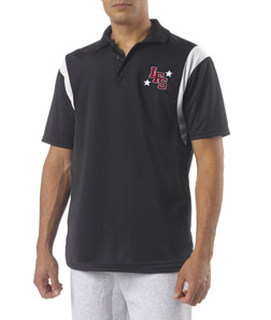 Bodek N3266 A4 Adult Color Block Polo with Knit Collar