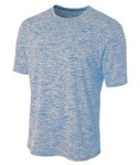 Bodek N3296 A4 Adult Space Dye Tech Tee