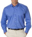 Bodek V0521 Van Heusen Men's Long-Sleeve Dress Twill