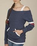 Alpha Broder 09583F2 Ladie's Maniac Eco-Fleece Sport Sweatshirt