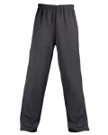 Alpha Broder 1479 Adult Pro Heathered Fleece Pant With Side Pockets