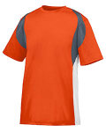 Alpha Broder 1516 Youth Wicking Poly/Span Short-Sleeve Jersey With Contrast Inserts