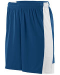 Alpha Broder 1605 Adult Wicking Polyester Short With Contrast Inserts