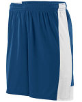 Alpha Broder 1606 Youth Wicking Polyester Short With Contrast Inserts