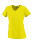 Alpha Broder 1790 Ladie's Moisture-Wicking V-Neck T-Shirt
