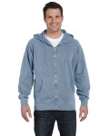 Broder Bros. 1940 11 oz. Pigment-Dyed Ringspun Cotton Full-Zip Hood