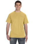 Alpha Broder 1969P 5.6 oz. Pigment-Dyed & Direct-Dyed Ringspun Pocket T-Shirt