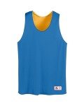 Alpha Broder 198 Youth Tricot Mesh Reversible Tank