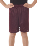 """Alpha Broder 2207 Youth Mesh/Tricot 6"""" Shorts"""