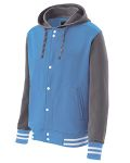 Alpha Broder 222288 Youth Poly/Cotton Fleece Accomplish Jacket