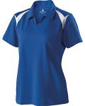 Alpha Broder 222346 Ladie's Polyester Pique Laser Polo