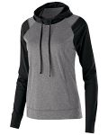 Alpha Broder 222739 Ladie's Dry-Excel™ Echo Performance Polyester Knit Training Hoodie
