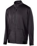 Alpha Broder 229166 Adult Polyester Fleece Full Zip Artillery Jacket