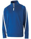 Alpha Broder 229192 Adult Polyester 1/4 Zip Determination Pullover