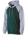 Alpha Broder 229279 Youth Cotton/Poly Fleece Banner Hoodie