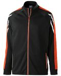 Alpha Broder 229568 Unisex Flux Temp-Sof Performance Fleece Warm-Up Jacket