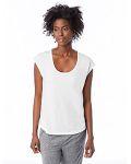 Alpha Broder 2906P Ladie's Melrose Organic Pima Cotton Scoop T-Shirt