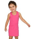 Alpha Broder 3135 Toddler Rib Racerback Dress