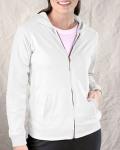 Alpha Broder 3659 Ladies French Terry Hooded Raglan Full-Zip Jacket