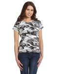 Alpha Broder 3665 Ladie's Camouflage T-Shirt