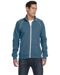 Alpha Broder 3710 Men's Piped Fleece Jacket