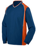 Alpha Broder 3745 Adult Water Resistant Polyester Diamond Tech V-Neck Pullover
