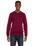 Alpha Broder 3901 Unisex Triblend Sponge Fleece Crew Neck Sweatshirt