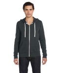 Alpha Broder 3909 Unisex Triblend Sponge Fleece Full-Zip Hoodie