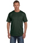 Alpha Broder 3931P Adult 5 Oz. Hd Cotton™ Pocket T-Shirt