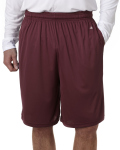 "Alpha Broder 4119 Adult B-Core 10"" Performance Shorts With Pockets"