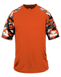 Alpha Broder 4141 Adult Camo Colorblock Short-Sleeve T-Shirt