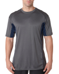 Alpha Broder 4147 Adult Drive Performance Tee With Contrast Panels