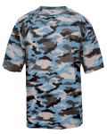 Alpha Broder 4181 Adult Camo Short-Sleeve T-Shirt