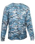 Alpha Broder 4184 Adult Digital Long-Sleeve T-Shirt